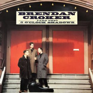 Brendon Croker & The 5 O'Clock Shadows - Brendon Croker & The 5 O'Clock Shadows (LP)  (G-VG/G-VG)